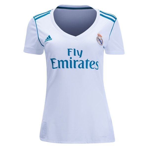 a00b00fd58d adidas Real Madrid Womens Home Jersey 17/18 | Products | Athletic ...