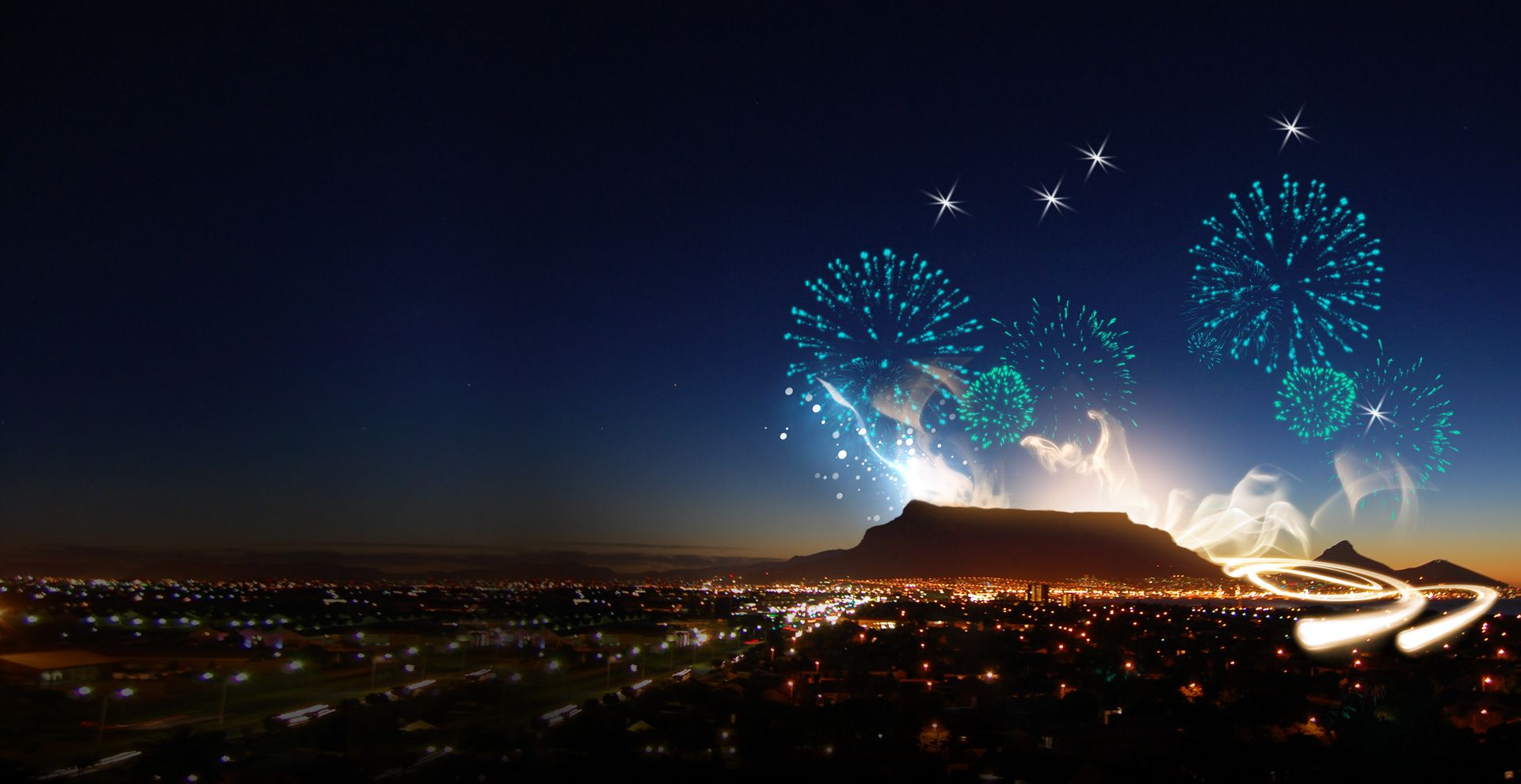 Ring in the new year in the Mother City that surrounds
