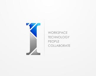 letter i logo inspiration letter logos typographic logos