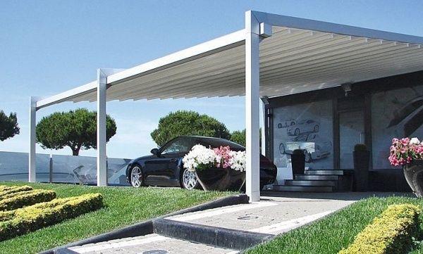 Aluminum Patio Cover Garden Deck Pergola Design Ideas Sunscreen Outdoor Pergola Aluminum Pergola Pergola Plans Diy