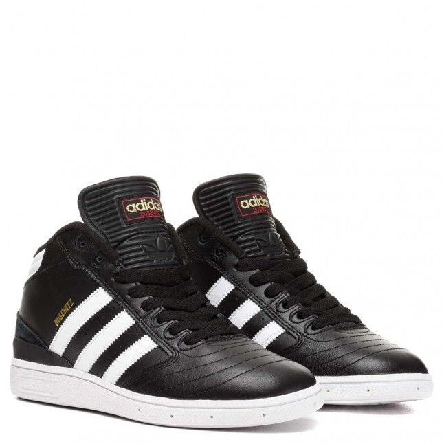 Adidas Busenitz Pro Mid Black/Run White/Metallic Gold
