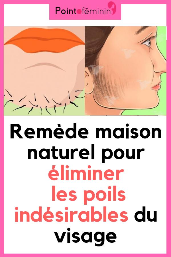 77ebe11119e9 Remède maison naturel pour éliminer les poils indésirables du visage  poils   remede  naturel
