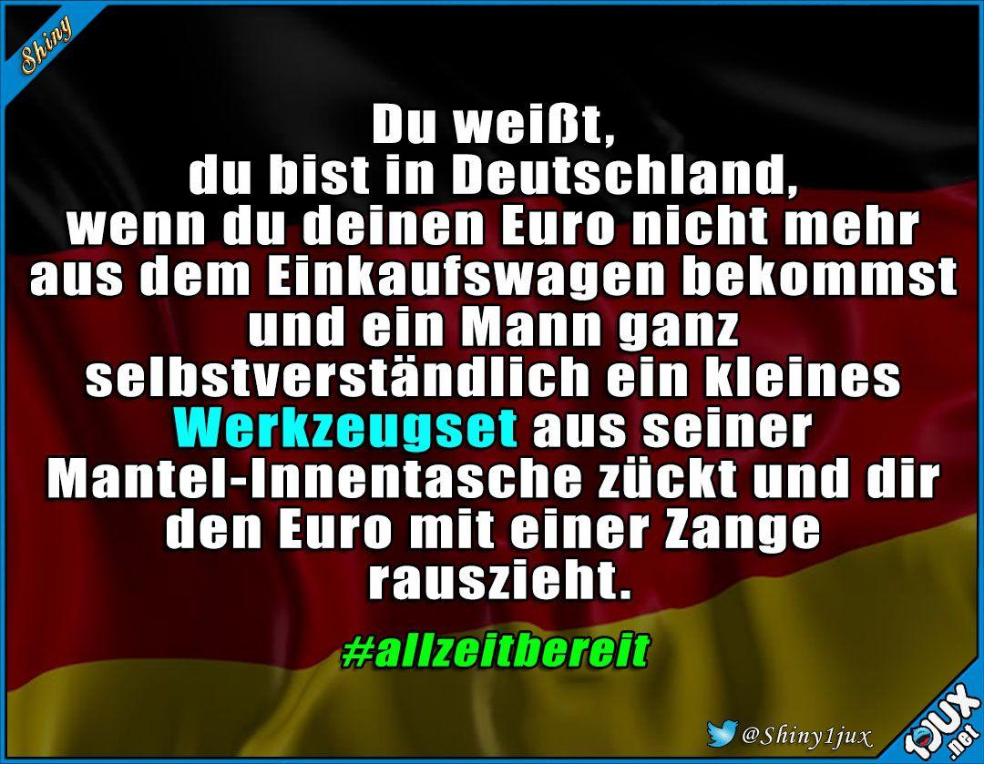 Immer gut vorbereitet :) #Deutschland #deutsch #typischdeutsch