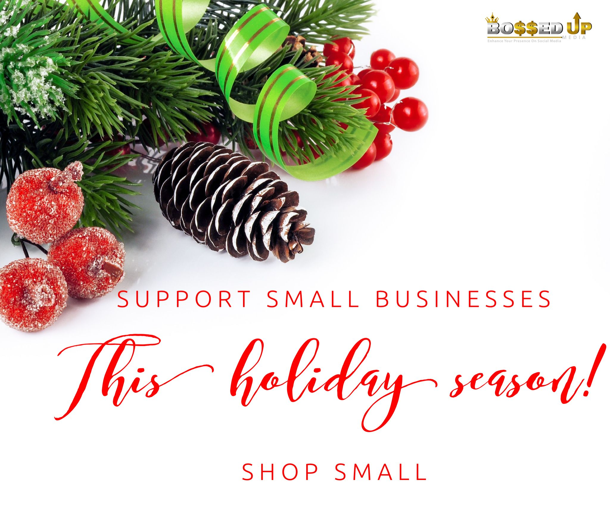 This Holiday Season Support Small Businesses Shop Small New Year Wishes Cards Merry Christmas Wishes Christmas Cards To Make