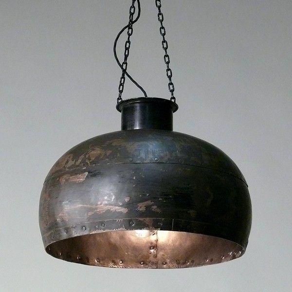 Kesselmacherlampe Rustikal Genietet Bei Fabrikschickde