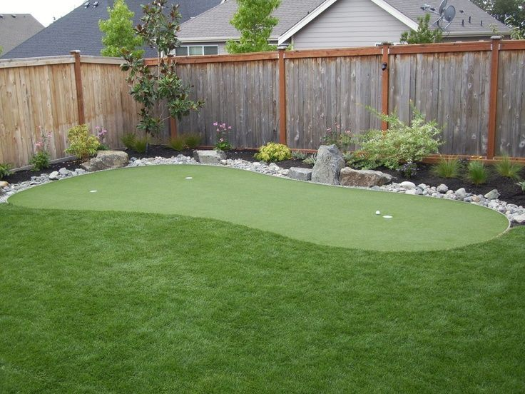backyard putting greens | Found on syntheticturfnort ...