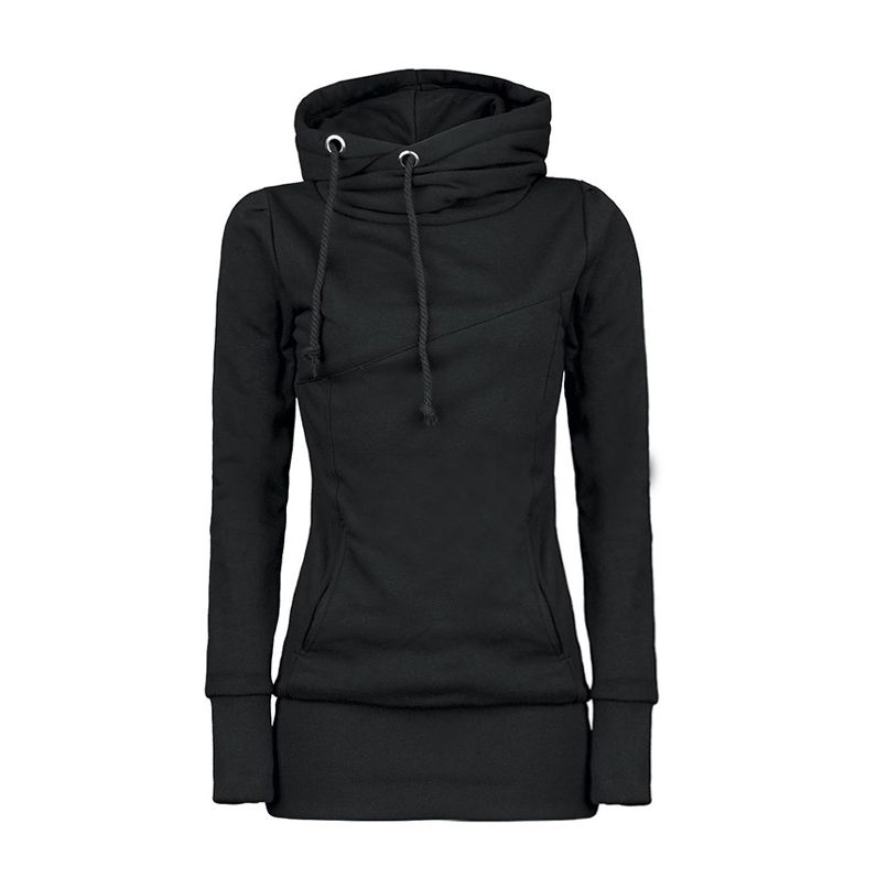 Winwinus Women Comfortable Fall Winter Long-Sleeve Zip Hoodie Sweatshirt