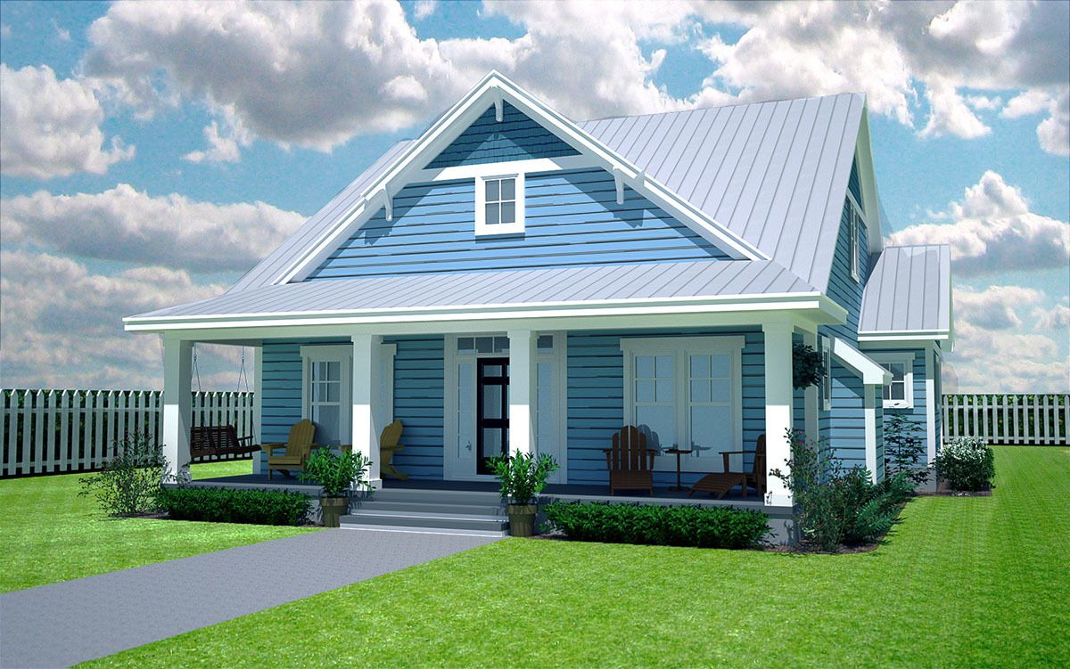 Plan 15052NC Comfy Cozy 3 Bedroom Cottage House styles