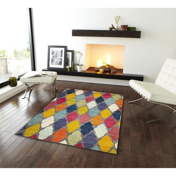 Trellis Pallete Rug Multi 290x200cm Deals Direct