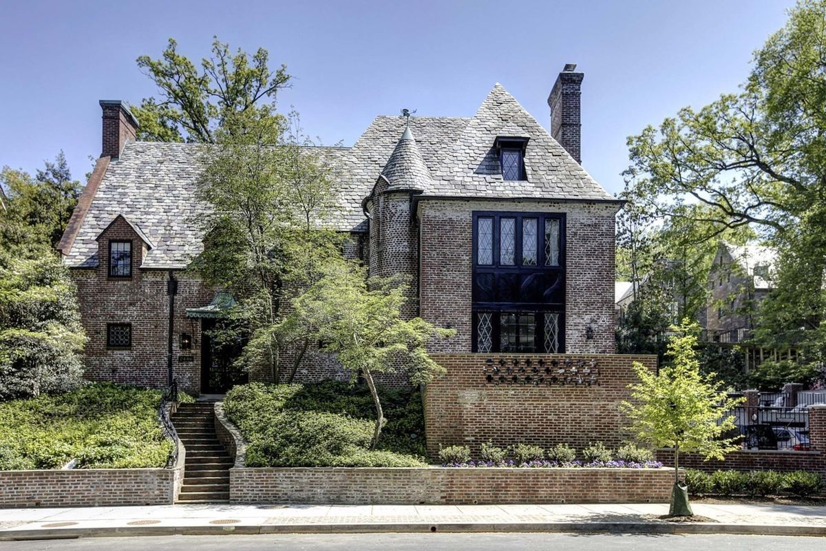 The nine bedroom house, which isn't far from the White House, and is located on Belmont Road in Washington D.C's inner suburbs, has had a few improvements made in the lead up to President Obama's retirement. Image credit: The McFadden Group