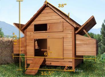 DIY Build Yourself Chicken Coop Kit   6 10 Chickens Backyard Coop