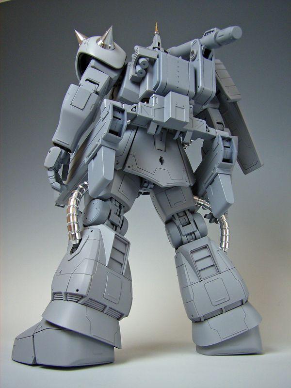 MG MS-06K Zaku Cannon customise