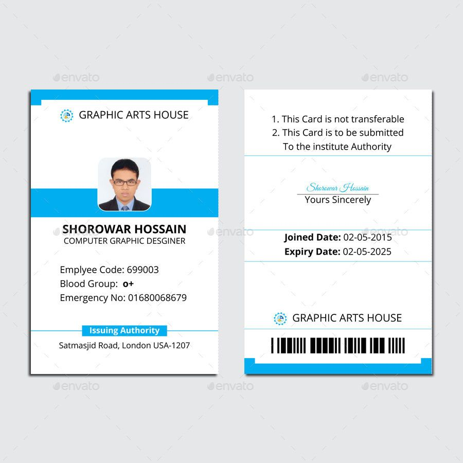 037 Template Ideas 02 Id20card Teacher Id Card Unbelievable Inside Id Card Template Ai Professional Template Employee Id Card Id Card Template Employees Card