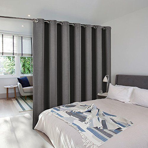 Room Divider Curtain Screen Partitions Nicetown Thermal Insulated Blackout Patio Door Curtain Room Divider Curtain Bamboo Room Divider Sliding Door Curtains