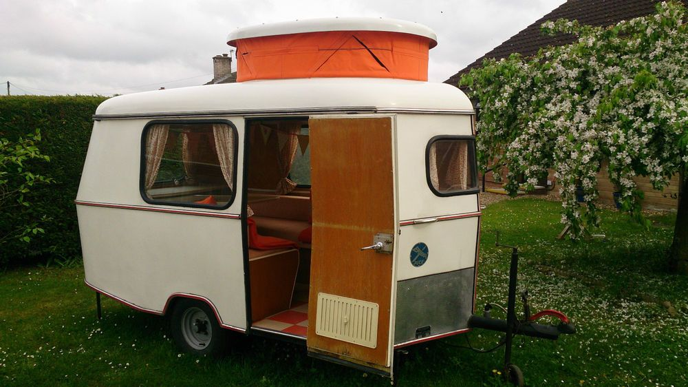 eriba puck caravan small lightweight german pop top 1960 39 s restored vtg vw tops caravan and. Black Bedroom Furniture Sets. Home Design Ideas