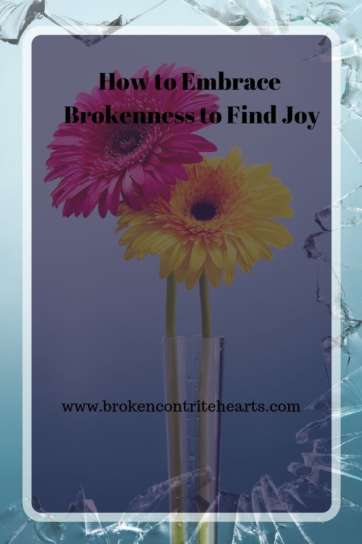 How to Embrace Brokenness to Find Joy | Leaning on Jesus in the brokenness | Broken & Contrite Hearts #broken #Jesus #hope