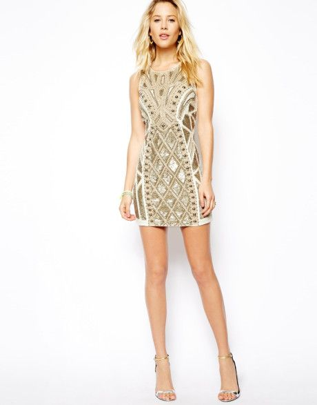 e2d10112c3 Women's Natural Needle Thread Geo Sundown Mini Dress | My style ...