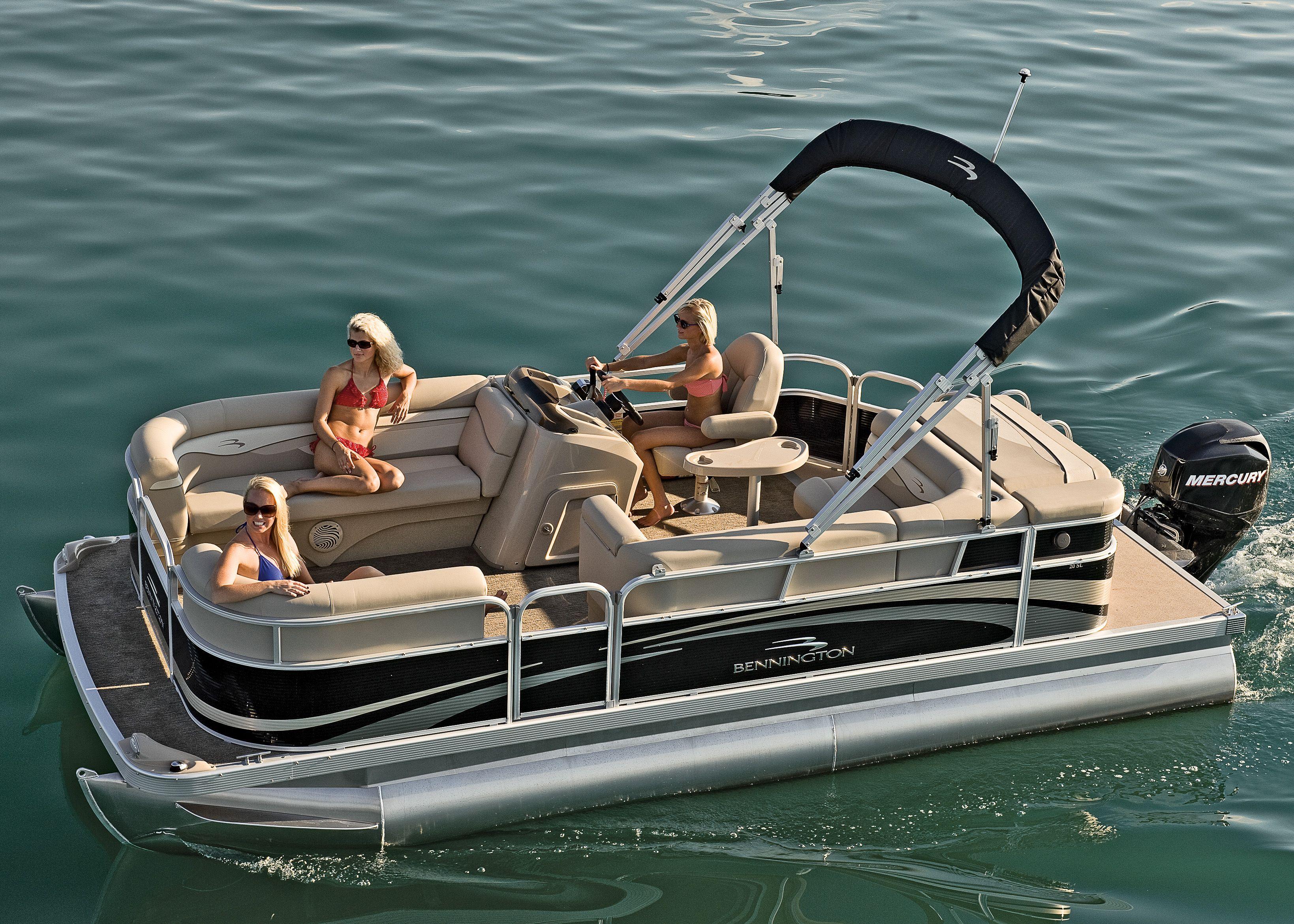 2012 bennington 20 sl pontoon boat great for a summer for Best fishing pontoon boat