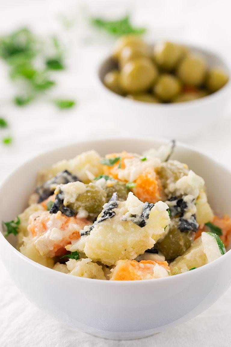 Vegan Malaga Salad Ensalada Malaguena Recipe Food Recipes Spanish Lentil Soup Recipe Spanish Food