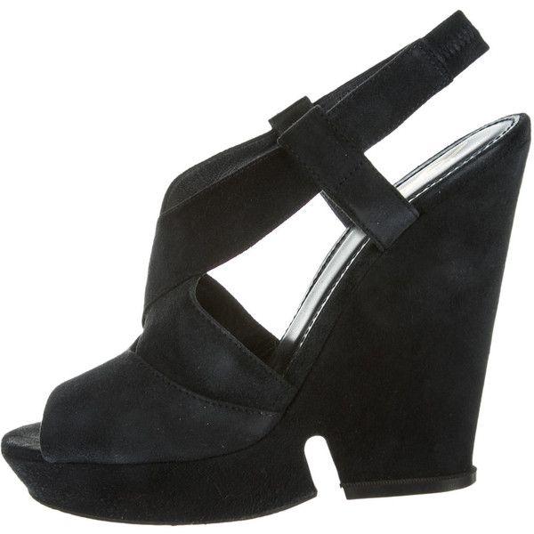 Pre-owned - Black Suede Sandals Saint Laurent pXtImB27