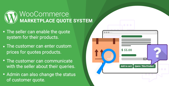 WordPress WooCommerce Marketplace Quote System Plugin by webkul ...