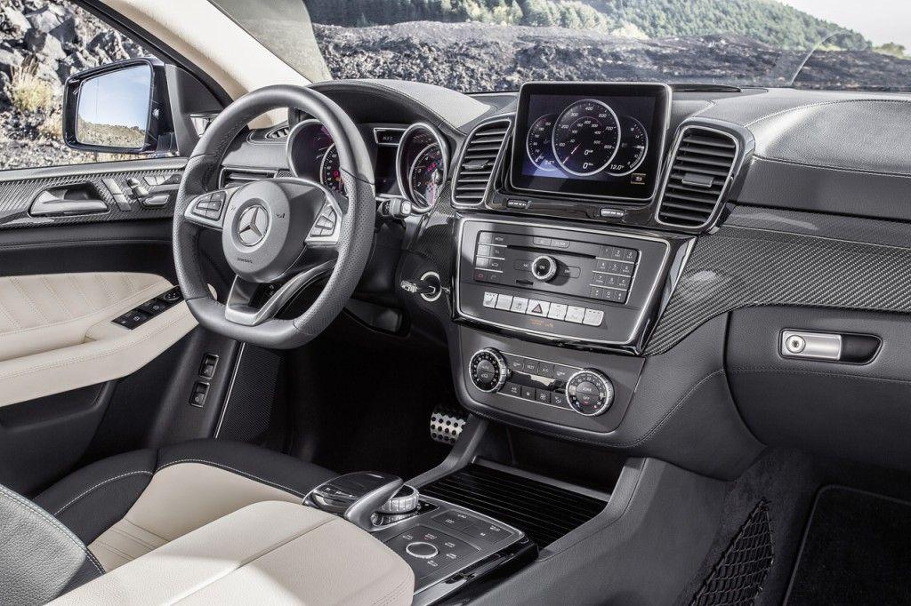 2016 MercedesBenz GLE Coupe Interior Mercedes benz gle