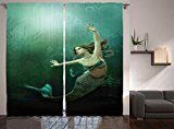 mermaidhomedecor - Mermaid Decor Curtains $69.99