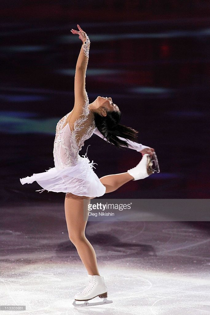 Miki Ando of Japan skates in the Gala Exhibition during day eight of the 2011 World Figure Skating Championships at Megasport Ice Rink on May 1, 2011 in Moscow, Russia.