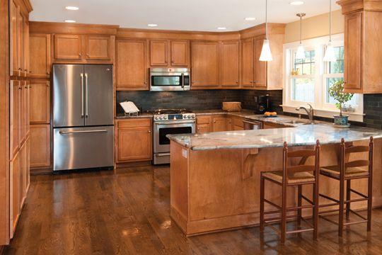 Kitchen Designs With Maple Cabinets Lowe's Kitchen Cabinets In Stock  Instock Bretwood  Cabinets .