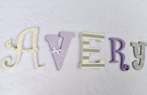 Customized handcrafted alphabet decor. by HeyColeDecor on Etsy