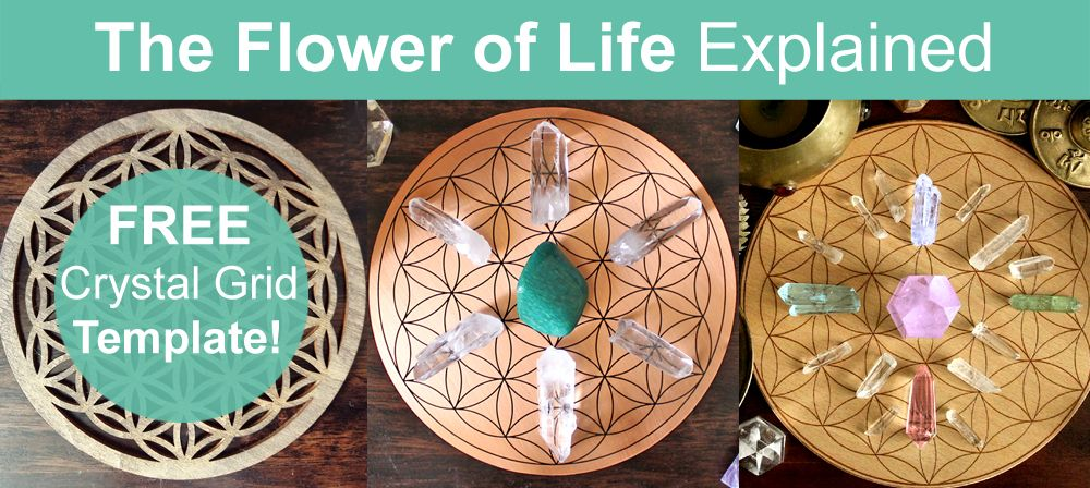 Flower Of Life Crystal Grid Meaning - Free Crystal Grid ...