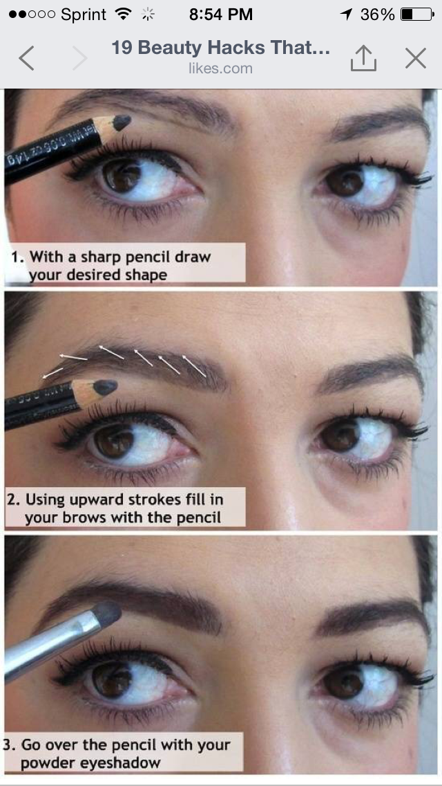 Discover ideas about how to fill eyebrows