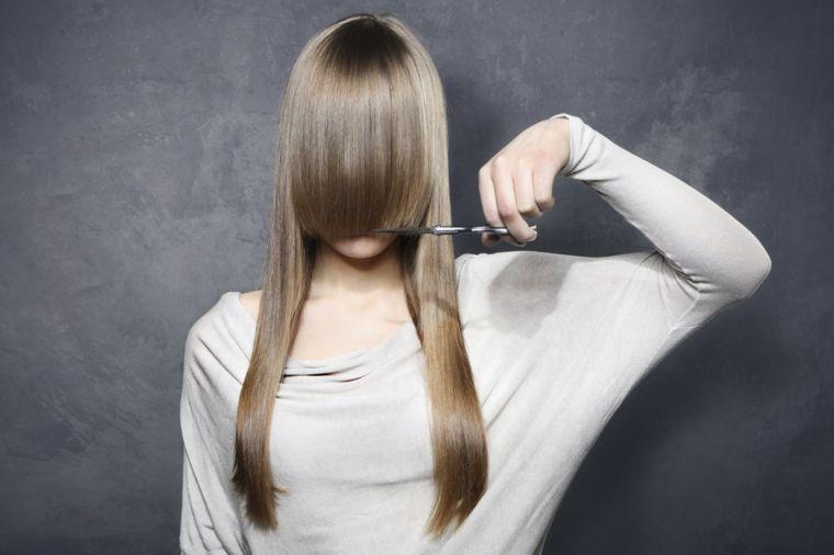 Pin on Taglio capelli lunghi