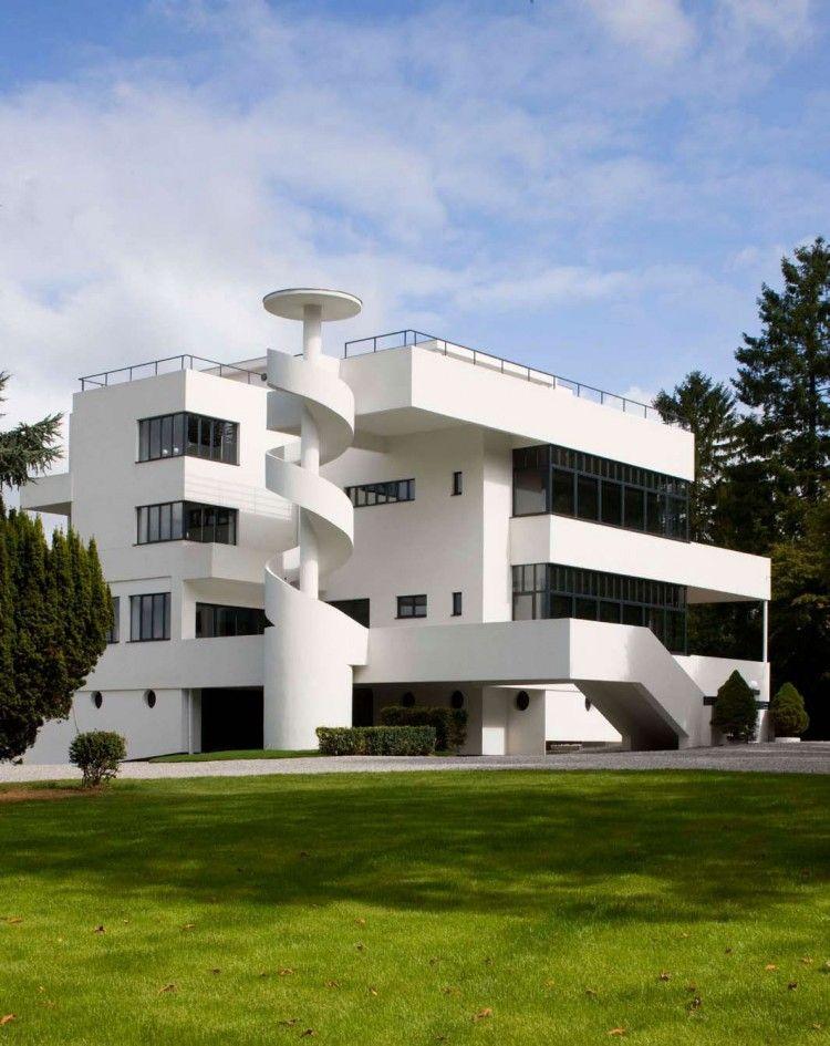 villa dirickz: a modern castle in brussels | best modern castle
