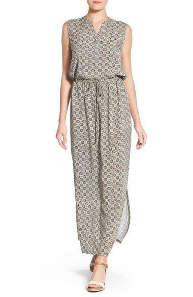 93c95ba18d3 Caslon® Sleeveless Woven Maxi Dress (Regular   Petite) available at   Nordstrom