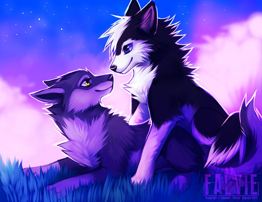 Cute falvie wolfs | furry | Pinterest | Wolf and Drawings