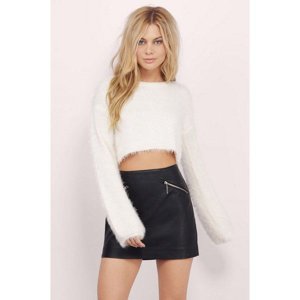 Tobi Out To Play Fuzzy Sweater ($36) liked on Polyvore ...
