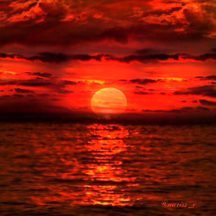 My red sunset (@nuriss_c)