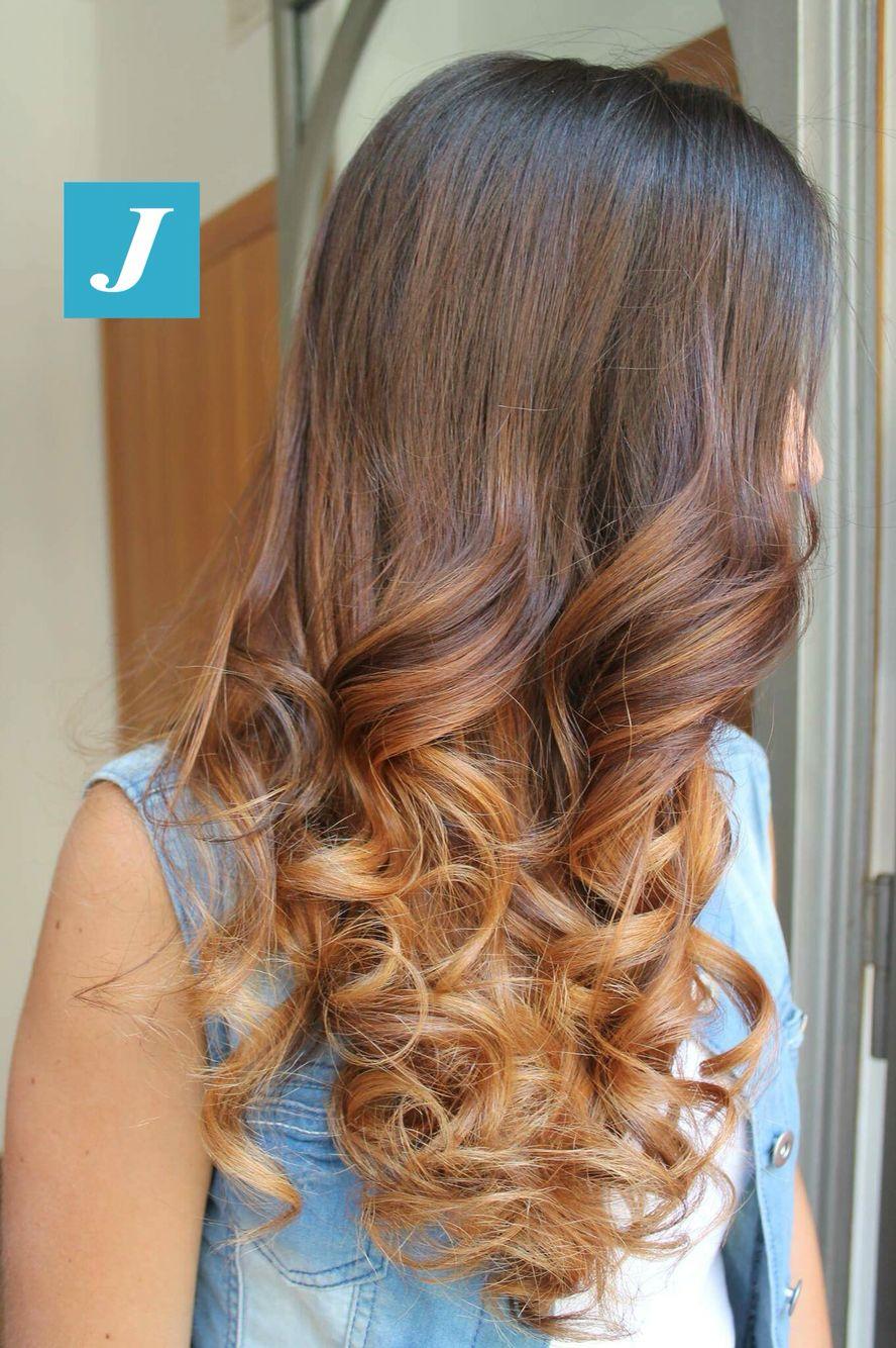 Degradé Joelle Sunset #cdj #degradejoelle #tagliopuntearia #degradé #igers #musthave #hair #hairstyle #haircolour #longhair #ootd #hairfashion #madeinitaly #wellastudionyc