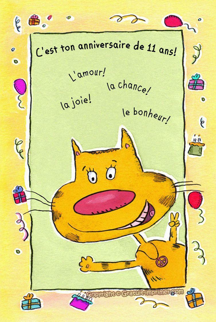 Jolies cartes joyeux anniversaire gratuites joliecarte. carte invitation anniversaire gratuite à imprimer | Carte ...