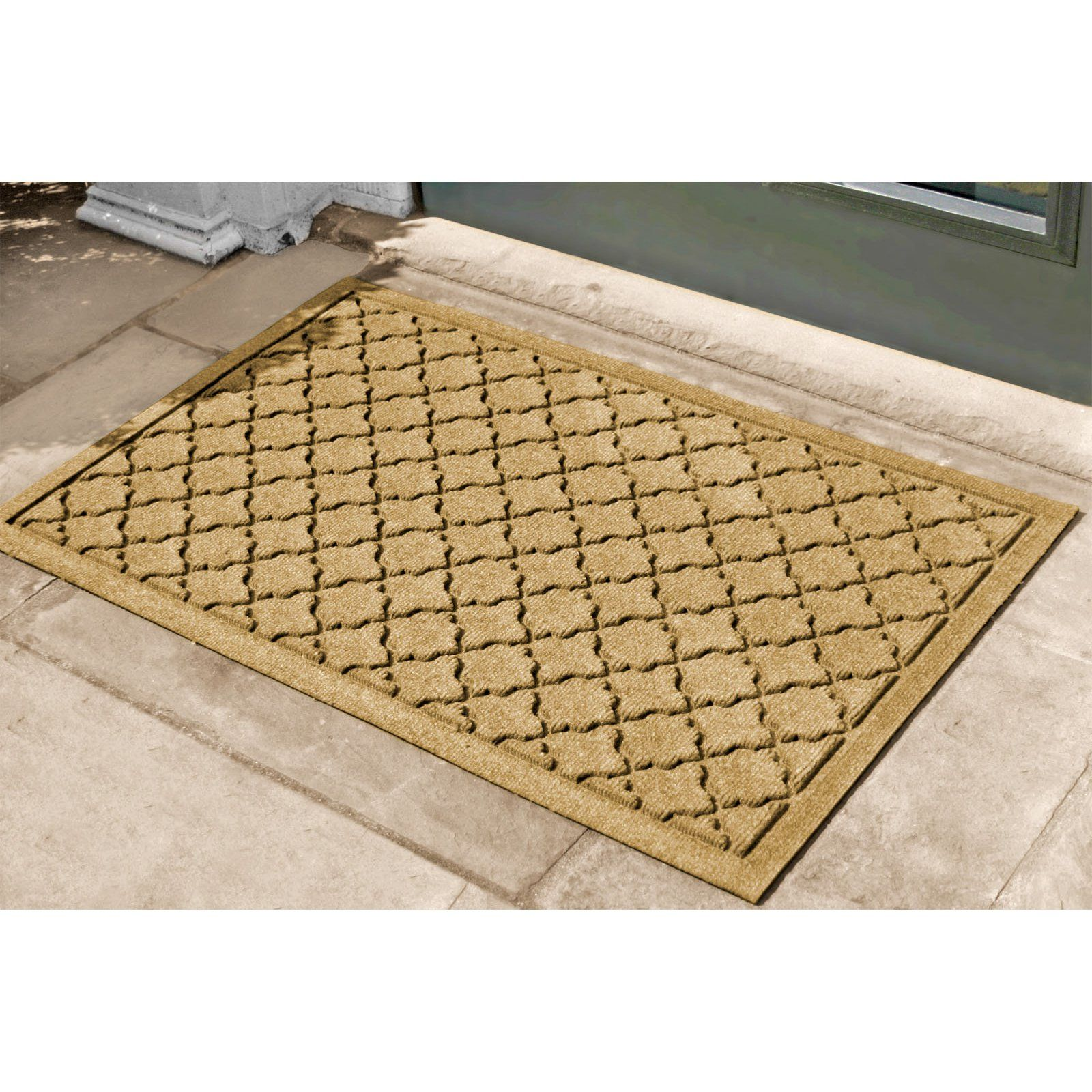 cotton door water guard polyester trapper mat mats heibai buy dirt
