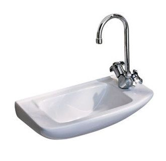 Http Www Faucetdirect Com Porcher 26011 Perfect Sink For The Half Bath Tiny Powder Rooms Room