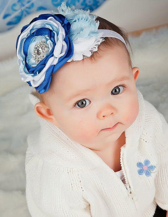 frozen inspire headband Elsa Anna headband Newborn headband baby hayr bow dress up Photo prop Baby girl headbands Frozen headband