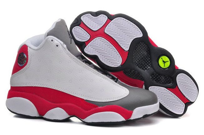 Authentic Cheap Air Jordan 13 Cheap Nike Clearance Jordan 13 Retro White  Pink Grey Black Shoe