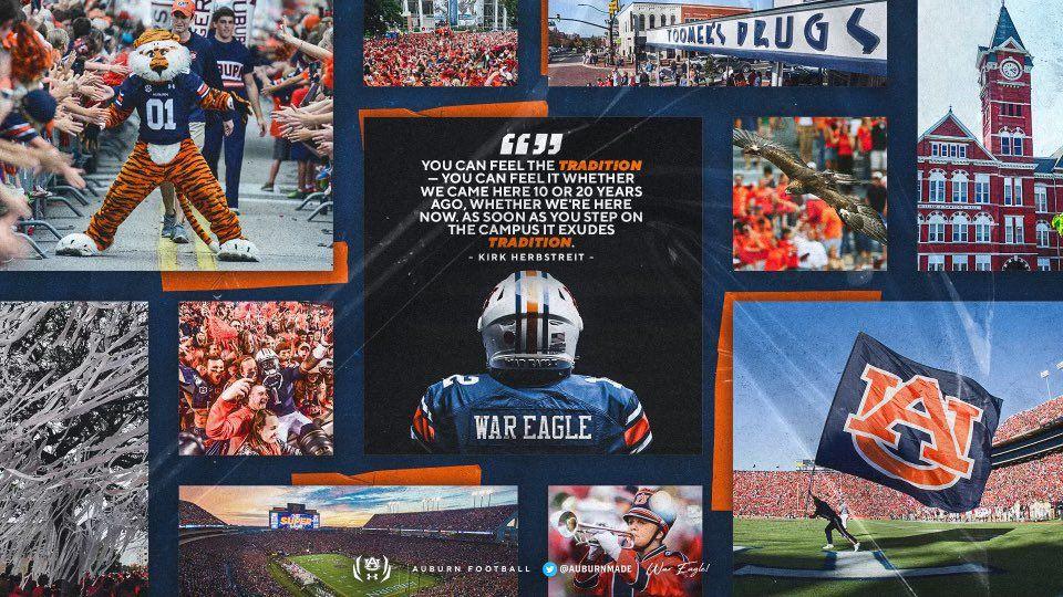 Auburn in 2021 war eagle college football recruiting