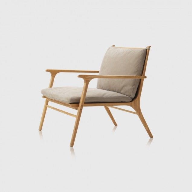 Ren Lounge Chair in Natural Ash Living Edge