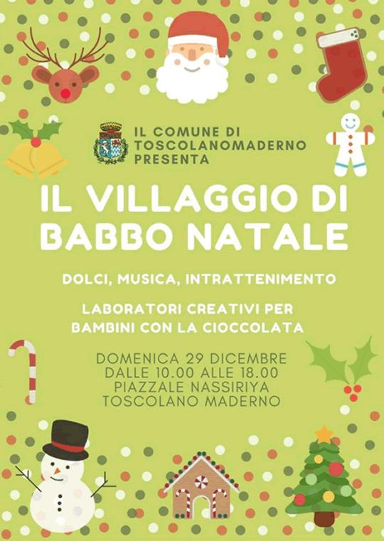 Il Villaggio di Babbo Natale a Toscolano Maderno Babbo