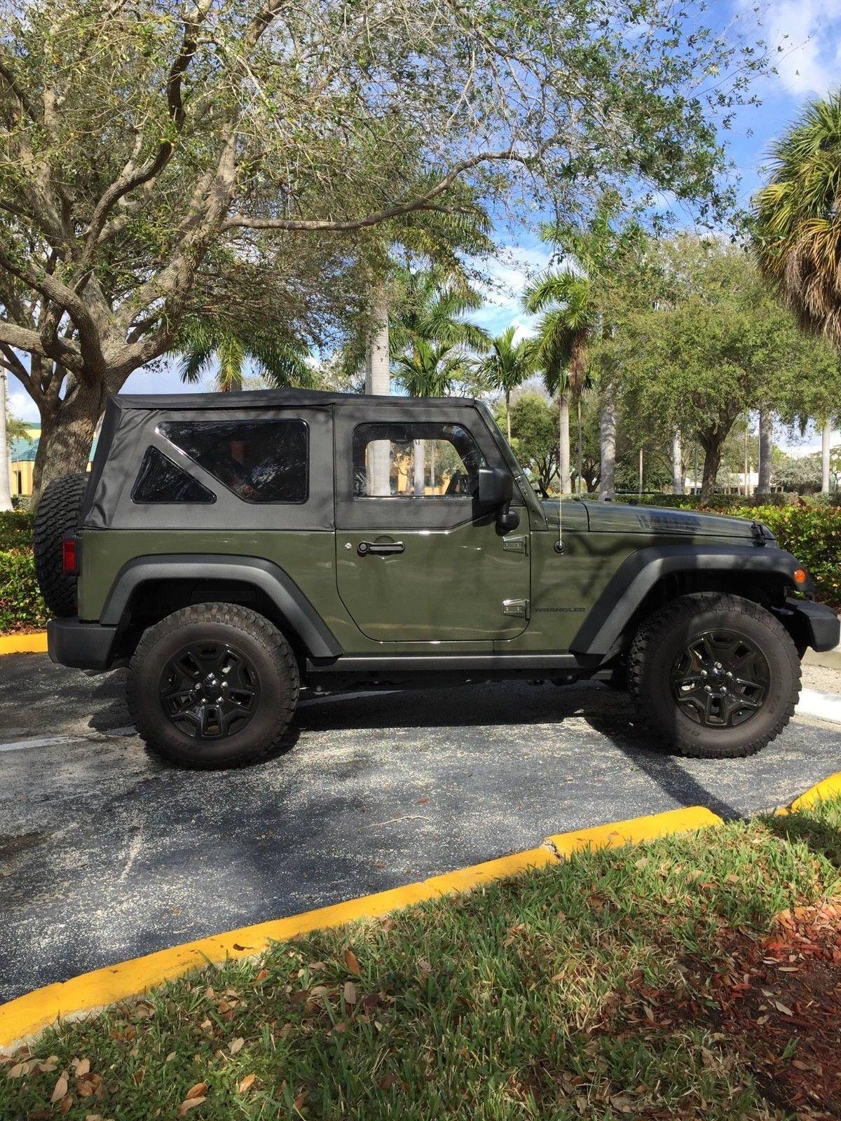 2015 Jeep Willys Wheeler Side View Willys Jeep Wrangler Willys
