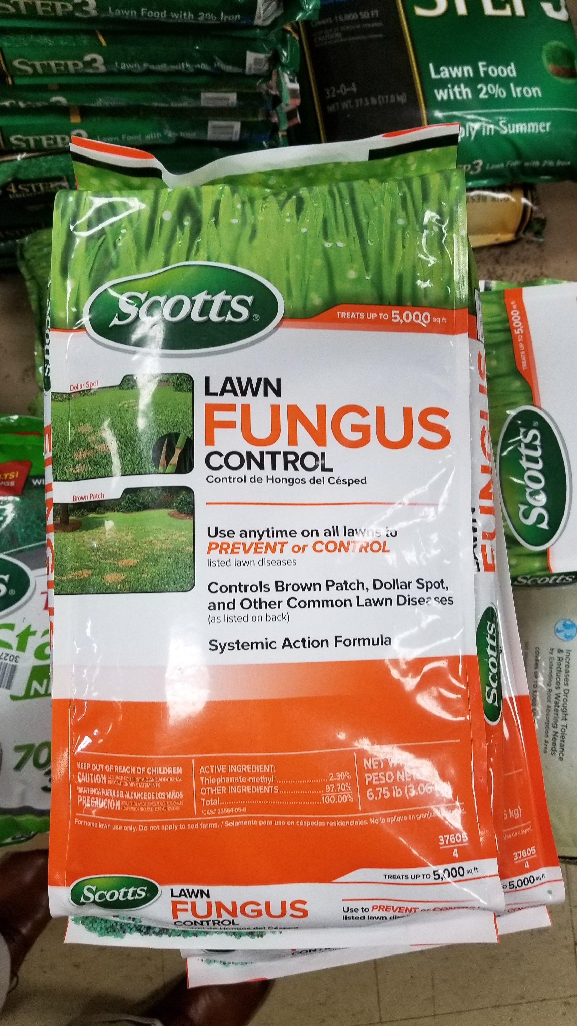 Scotts fungus control prevents major lawn diseases