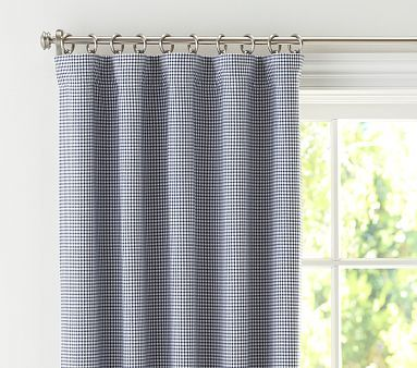 Gingham Panel With Blackout Liner Potterybarnkids With Images